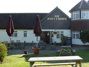 P1000617 Jolly Farmer, Blacknest. Alternative refreshment stop